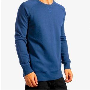 Richer Poorer Crew Neck Terry Cloth Sweatshirt